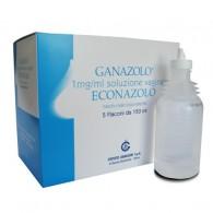 GANAZOLO crema vaginale - ovuli - soluzione vaginale -  1 MG/ML SOLUZIONE VAGINALE 5 FLACONI DA 150 ML + 5 CANNULE