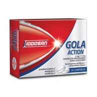 GOLA ACTION -  3 MG+1 MG COMPRESSE OROSOLUBILI SENZA ZUCCHERO 20 COMPRESSE