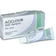 ACICLOVIR DOC GENERICI 5% CREMA -  5% CREMA TUBO 3 G