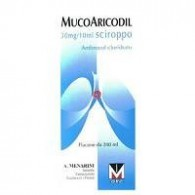 MUCOARICODIL -  30 MG/10 ML SCIROPPO 1 FLACONE DA 200 ML
