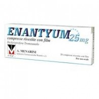 ENANTYUM COMPRESSE RIVESTITE CON FILM - 25 MG COMPRESSE RIVESTITE 20 COMPRESSE