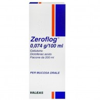 ZEROFLOG -  0,074 G/100 ML COLLUTORIO 1 FLACONE DA 200 ML