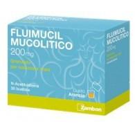 FLUIMUCIL MUCOLITICO -  200 MG GRANULATO PER SOLUZIONE ORALE 30 BUSTINE