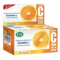 VITAMINA C PURA 1000 MG RETARD 30 COMPRESSE