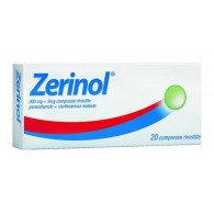 ZERINOL 300 MG + 2 MG COMPRESSE RIVESTITE -  300 MG + 2 MG COMPRESSE RIVESTITE 20 COMPRESSE