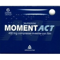 MOMENTACT 400 MG COMPRESSE RIVESTITE CON FILM -  400 MG COMPRESSE RIVESTITE CON FILM 6 COMPRESSE