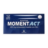 MOMENTACT 400 MG COMPRESSE RIVESTITE CON FILM -  400 MG COMPRESSE RIVESTITE CON FILM 12 COMPRESSE