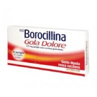 NEO BOROCILLINA GOLA DOLORE -  8,75 MG PASTIGLIE SENZA ZUCCHERO GUSTO MENTA 16 PASTIGLIE