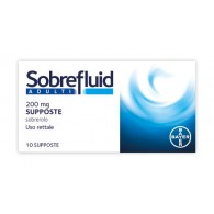 SOBREFLUID - ADULTI 200 MG SUPPOSTE 10 SUPPOSTE