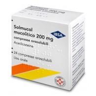 SOLMUCOL MUCOLITICO -  200 MG COMPRESSE OROSOLUBILI 24 COMPRESSE