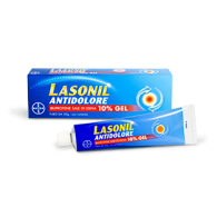 LASONIL ANTIDOLORE 10% GEL - 10% GEL 1 TUBO DA 50 G