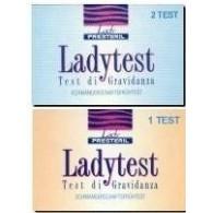 TEST DI GRAVIDANZA LADY TEST 2 PEZZI