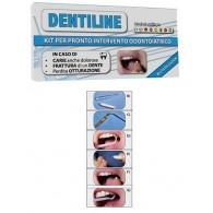DENTILINE PASTA 2 G + LIQUIDO 1 G