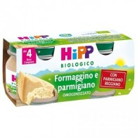 HIPP BIO HIPP BIO OMOGENEIZZATO FORMAGGINO AI TRE FORMA G GI 2X80 G