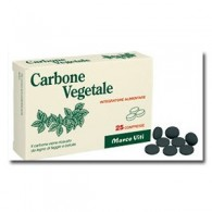 CARBONE VEGETALI 25 COMPRESSE