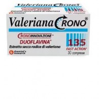 VALERIANA CRONO 135 CON DUOFLAVINA FAST ACTION 30 COMPRESSE