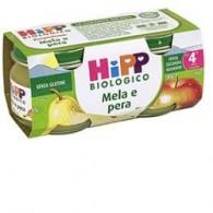 HIPP BIO OMOGENEIZZATO MELA PERA 100% 2X80 G