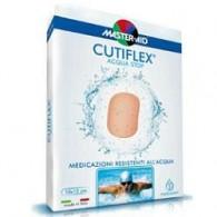 MEDICAZIONE AUTOADESIVA TRASPARENTE IMPERMEABILE MASTER-AID CUTIFLEX 10X12 5 PEZZI