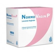 NORMOVAGIN P LAVANDA VAGINALE 5 FLACONI 100 ML + 5 CANNULE MONOUSO