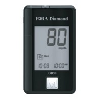 STRISCE MISURAZIONE GLICEMIA FORA DIAMOND PRIMA VOICE MINI DIAMOND COMFORT LUX GD50 25 PEZZI