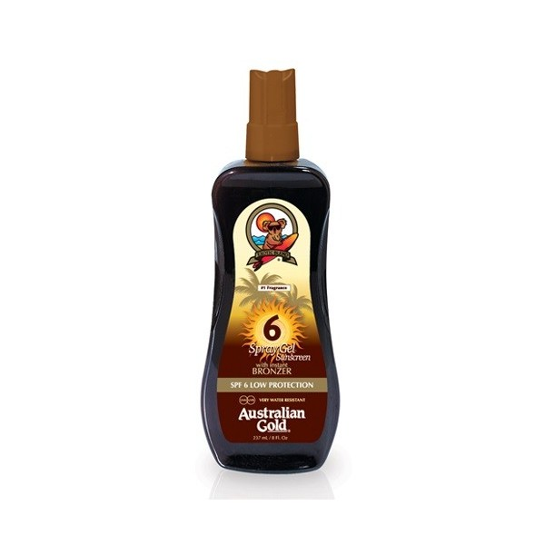 AUSTRALIAN GOLD SPF 6 SPRAY CON EFFETTO BRONZE 237 ML