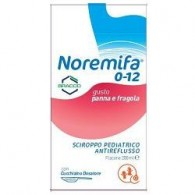 SCIROPPO PEDIATRICO ANTIREFLUSSO NOREMIFA 0-12 FLACONE 200 ML