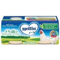 MELLIN OMOGENEIZZATO POLLO 2 X 80 G