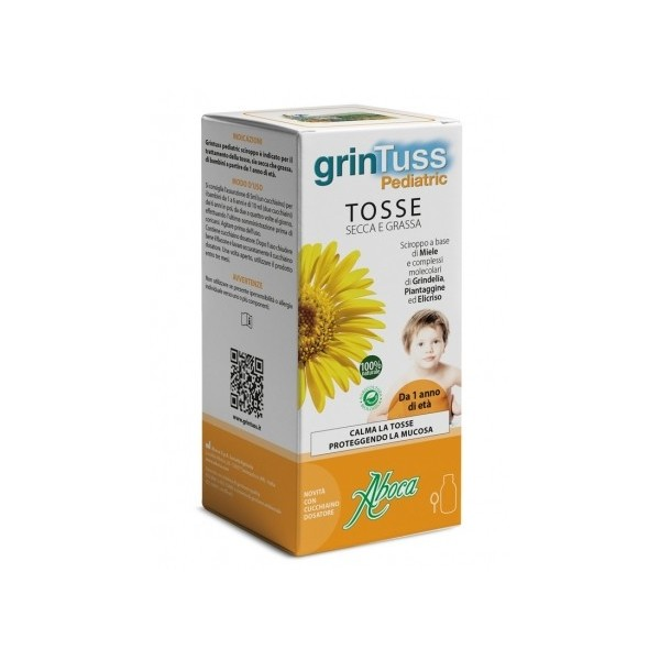 GRINTUSS PEDIATRIC SCIROPPO 180 G