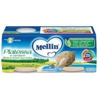 MELLIN OMOGENEIZZATO PLATESSA 2X80 G