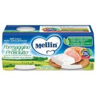 MELLIN BABY FORMAGGINO CON PROSCIUTTO 2 X 80 G
