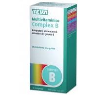 MULTIVITAMINICO COMPLEX B TEVA 40 COMPRESSE 16,4 G