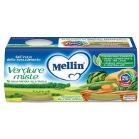 MELLIN OMOGENEIZZATO VERDURE MISTE 2 X 80 G