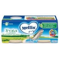 MELLIN OMOGENEIZZATO TROTA 2 X 80 G