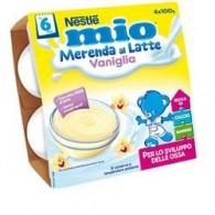 MIO MERENDA VANIGLIA 4 X 100 G