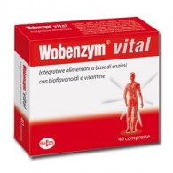 WOBENZYM VITAL 40 COMPRESSE