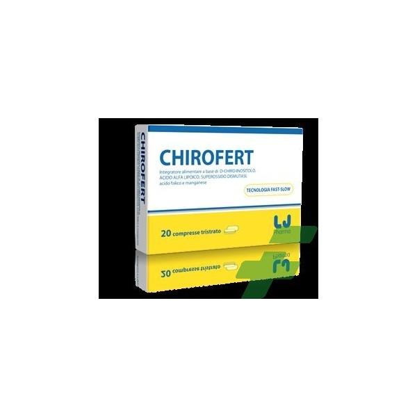 CHIROFERT 20 COMPRESSE 22 G