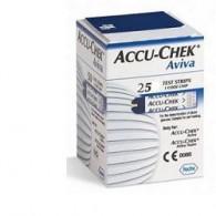STRISCE MISURAZIONE GLICEMIA ACCU-CHEK AVIVA BRK RETAIL 25 PEZZI
