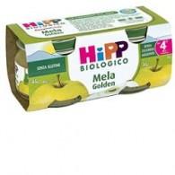 HIPP BIO OMOGENEIZZATO MELA GOLDEN 100% 2X80 G