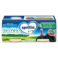MELLIN OMOGENEIZZATO TACCHINO 2 X 80 G