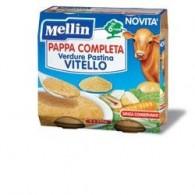 MELLIN PAPPA COMPLETA VITELLO 250 G 2 PEZZI