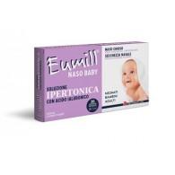 EUMILL NASO BABY SOLUZIONE IPERTONICA 20 FLACONCINI MONODOSE 5 ML