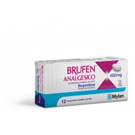 BRUFEN ANALGESICO COMPRESSE RIVESTITE CON FILM -  400 MG COMPRESSE RIVESTITE CON FILM 12 COMPRESSE IN BLISTER PVC/ACLAR/AL/VMCH