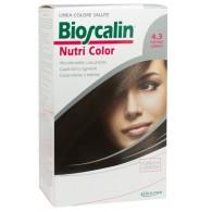 BIOSCALIN NUTRI COLOR 4.3 CASTANO DORATO SINCROB 124 ML
