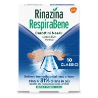 RINAZINA RESPIRABENE CEROTTI NASALI CLASSICI CARTON 10 PEZZI