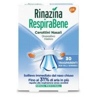 RINAZINA RESPIRABENE CEROTTI NASALI TRASPARENTI CARTON 30 PEZZI