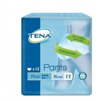 PANNOLONE PULL UP TENA PANTS PLUS TAGLIA EXTRA LARGE 12 PEZZI
