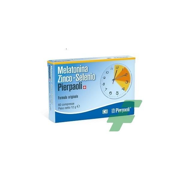 MELATONINA ZINCO SELENIO PIERPAOLI 60 COMPRESSE