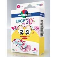 CEROTTO MASTER-AID QUADRA 3D GIRLS 20 PEZZI ASSORTITI - 1
