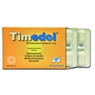 TIMEDOL 20 COMPRESSE MASTICABILI 1500 MG