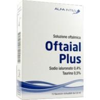 SOLUZIONE OFTALMICA OFTAIAL PLUS ACIDO IALURONICO 0,4% E TAURINA 15 FLACONCINI RICHIUDIBILI DA 0,6 ML